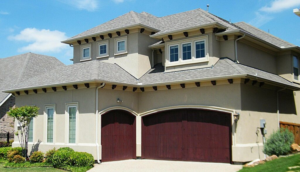 spanish style home, house, residence